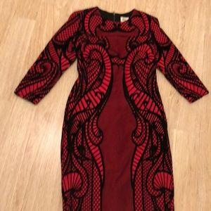 Hot red sexy dress ECI